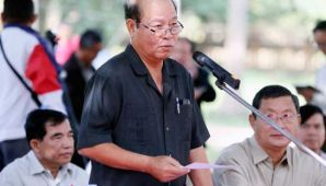 Minister of Health Mam Bunheng