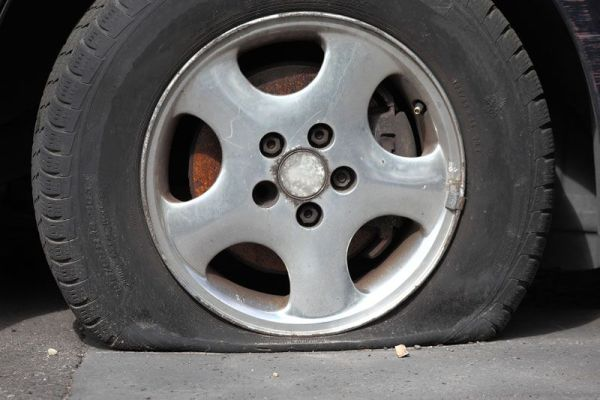 Handling a Popped Tire While Driving