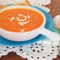 vegan tomato bisque