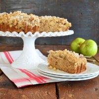apple cardamom crumb cake