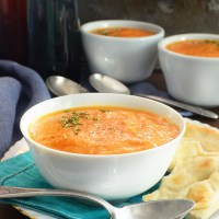 carrot ginger dill soup