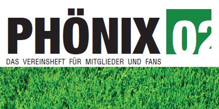 Mannheimer Fußball Club Phönix 02 e.V. - MFC Phönix - Phoenix Vereinsheft