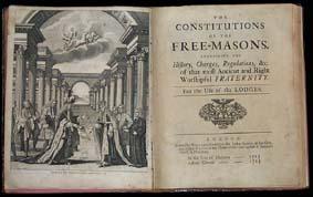 Resultado de imagen para foto de la constitución masonica