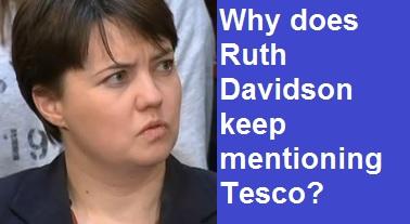 Ruth Davidson Tesco