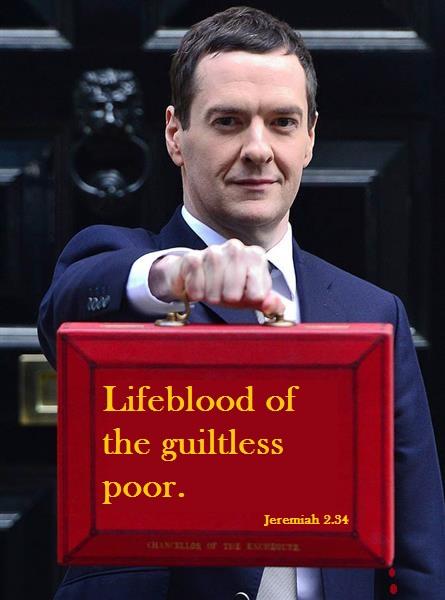 Lifeblood of the guiltless poor