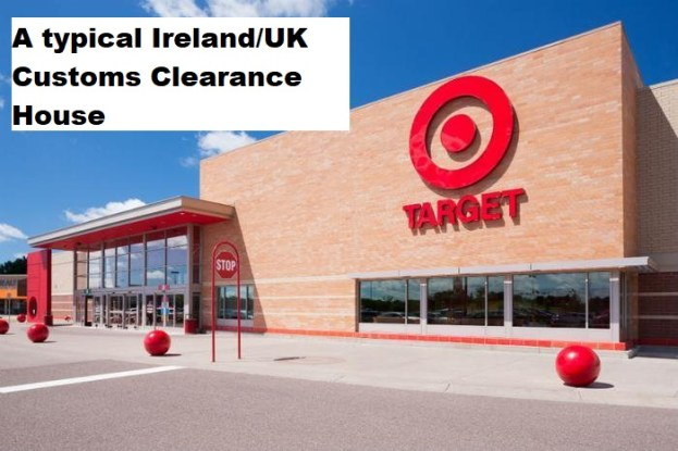 A typical Ireland/UK Customs Clearance House