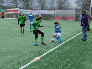 D-Juniorinnen vs Brakel Meisterrunde 2015