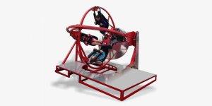 Human gyro, 4 settings, 1 phase motor, height 9 feet