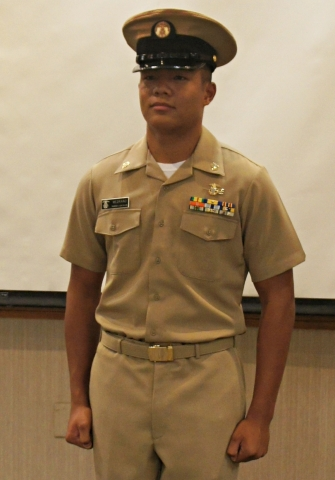 Chief Petty Officer Medrano
