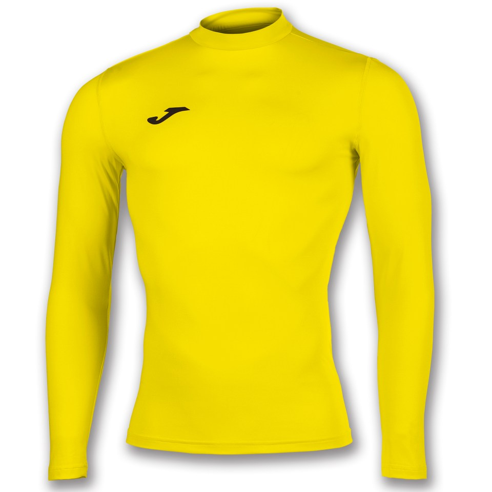 Yellow Joma under armour