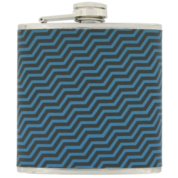 Paperchase Triangle Print Hip Flask