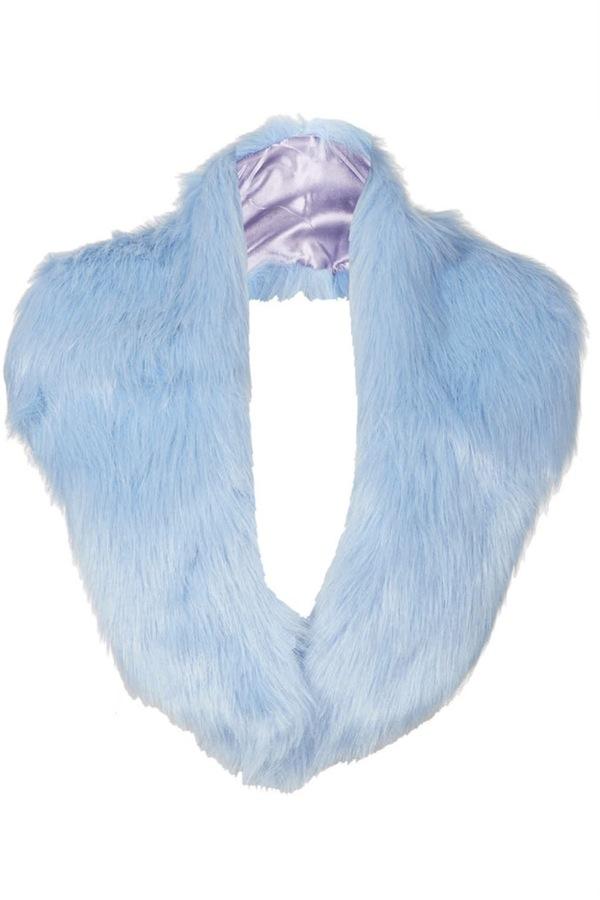 topshop fur stole