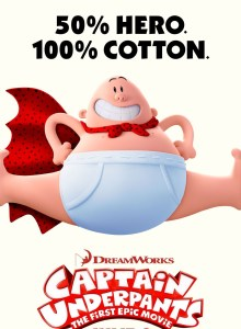 Movies in the Park: Captain Underpants: The First Epic Movie @ West Park – Darien