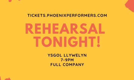 Rehearsal Tonight!