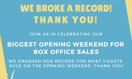 We broke a record! 🥳