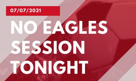 No Eagles Session 🦅