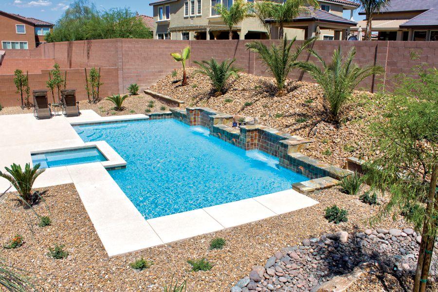 phoenix pool patio landscape design