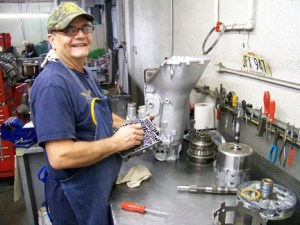 Don Weatherley is one of the most experienced and knowledgable transmission builders around. His organized, clean, and methodical workmanship mean you get the best, most durable transmission without the headaches!