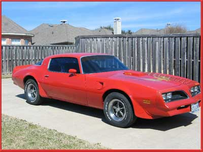 Eric Youngblood Allen, Texas 1977 Trans Am with 400 Pontiac Engine PT700R4SS Phoenix Transmission 2200 RPM Torque Max Converter