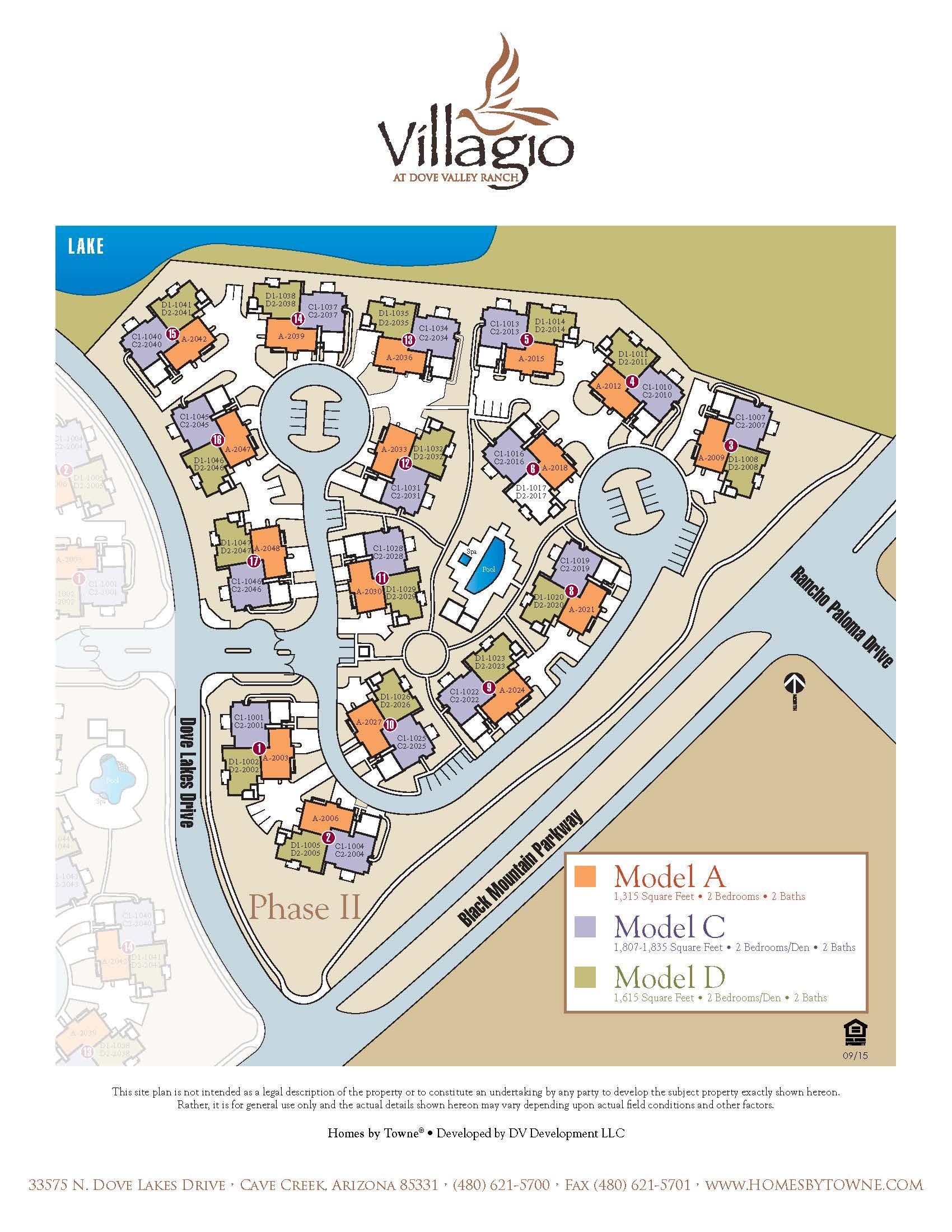 Villagio At Dove Valley Phoenix Urban Spaces