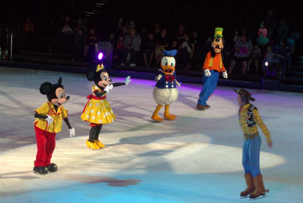 disney on ice characters