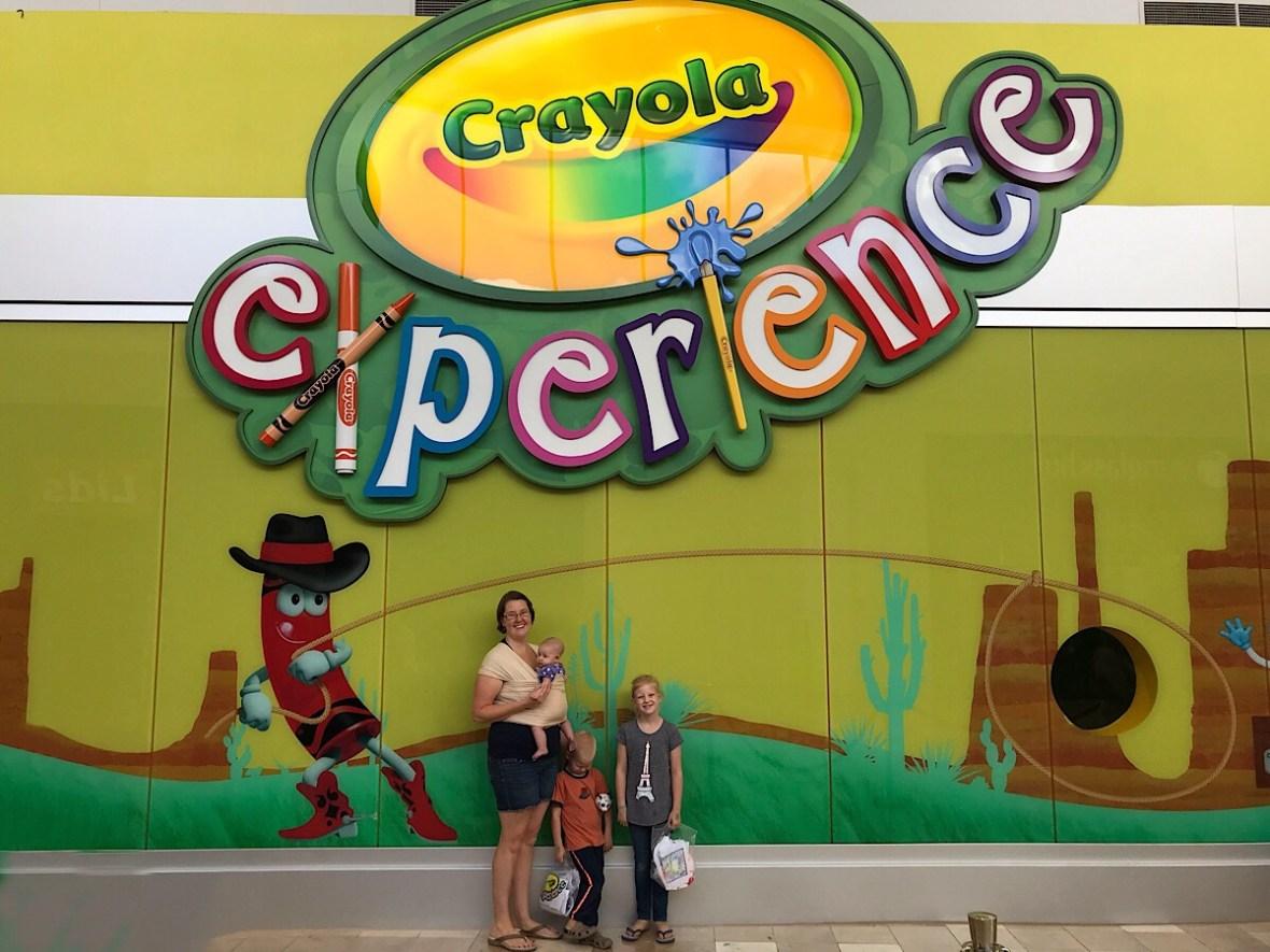 Crayola Experience in Chandler, AZ