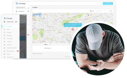 GPS tracking location