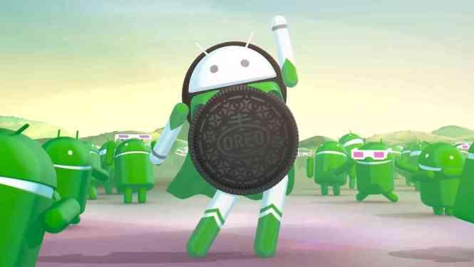 Android Oreo superhero logo