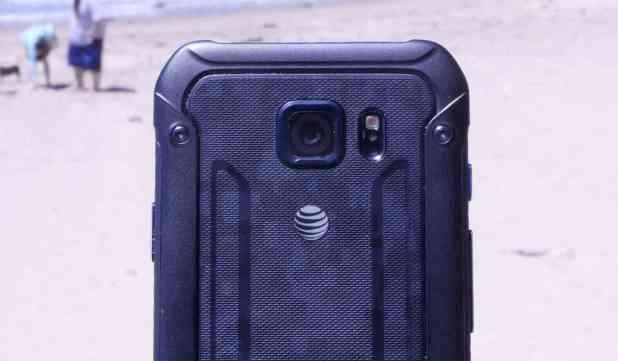 AT&T logo Samsung Galaxy S6 Active
