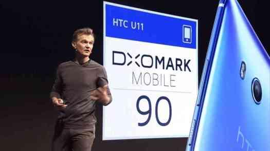 HTC U 11 DXOMark Mobile