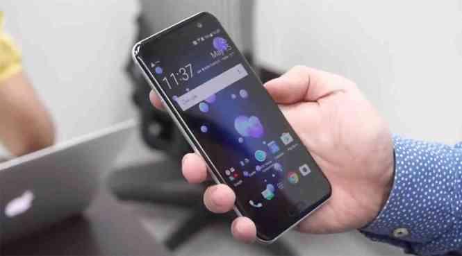 HTC U11 hands-on video leak