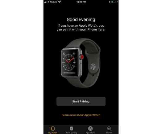 iOS 11 Apple Watch LTE leak
