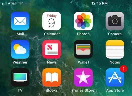 iOS 11 Signal Bar