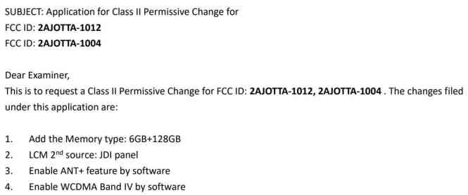 Nokia 8 6GB RAM 128GB storage FCC
