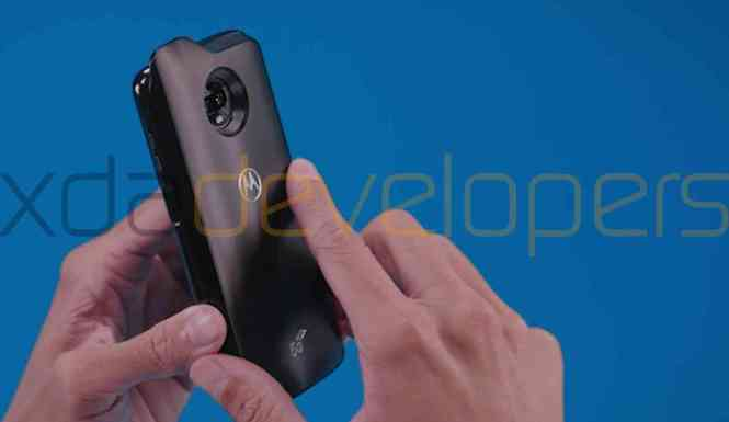 Moto Z3 Play 5G Moto Mod leak
