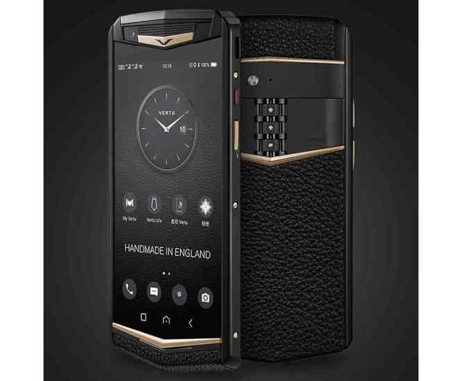Vertu Aster P luxury smartphone
