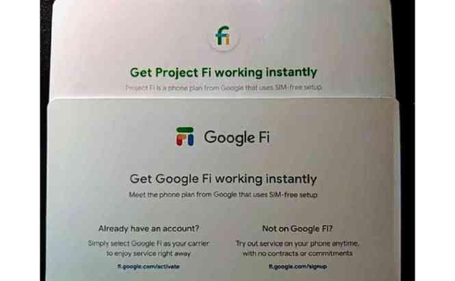 Google Fi rebrand leak