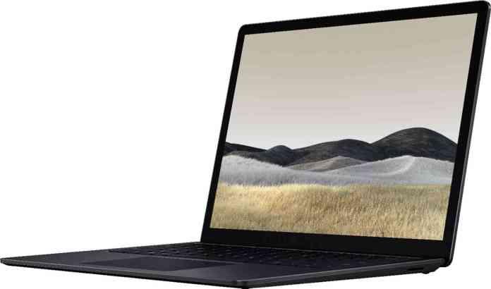 Surface Laptop leak