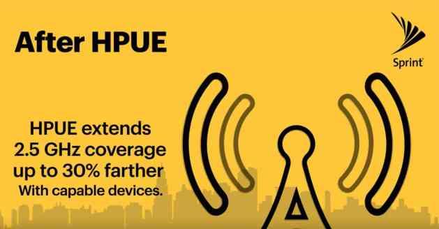 Sprint HPUE announcement