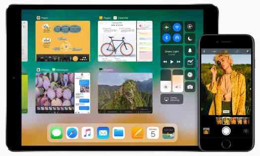 iOS 11 iPad iPhone