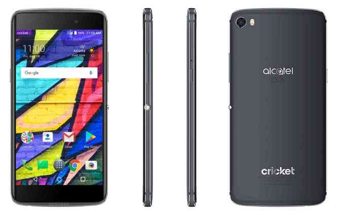 Alcatel Idol 5 Cricket Wireless official angles