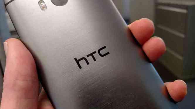 HTC logo One M8 rear