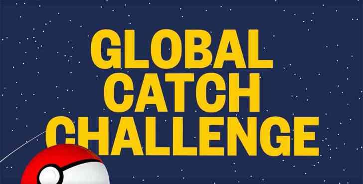 Pokémon Go Global Catch Challenge