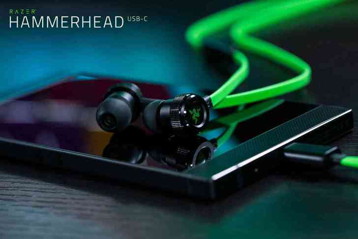 Razer Hammerhead USB-C earbuds official launch