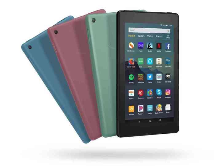 Amazon Fire 7 Tablet colors
