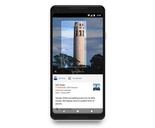 Google Lens Pixel 2 XL