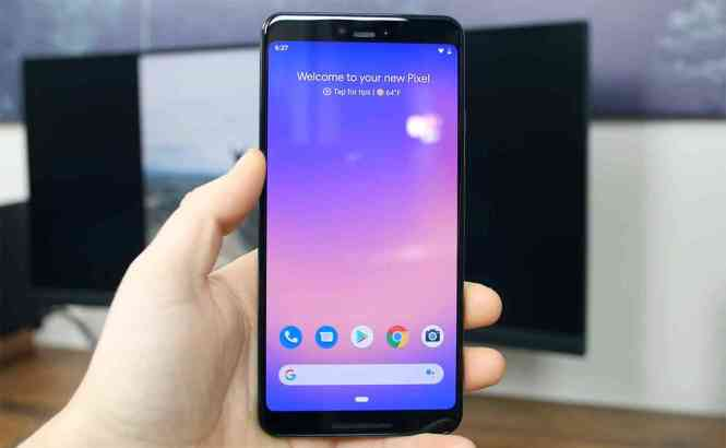 Google Pixel 3 XL hands-on video