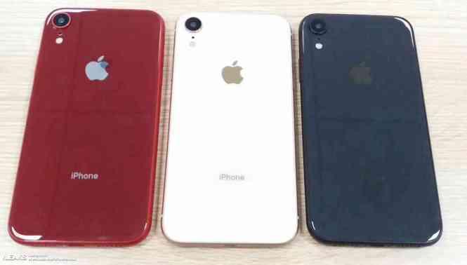 iPhone Xc colors leak