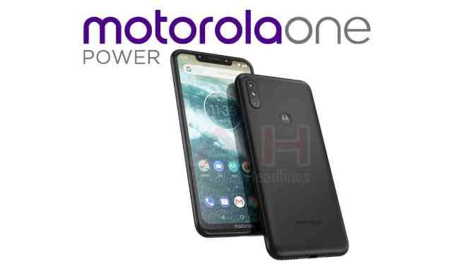 Motorola One Power image leak