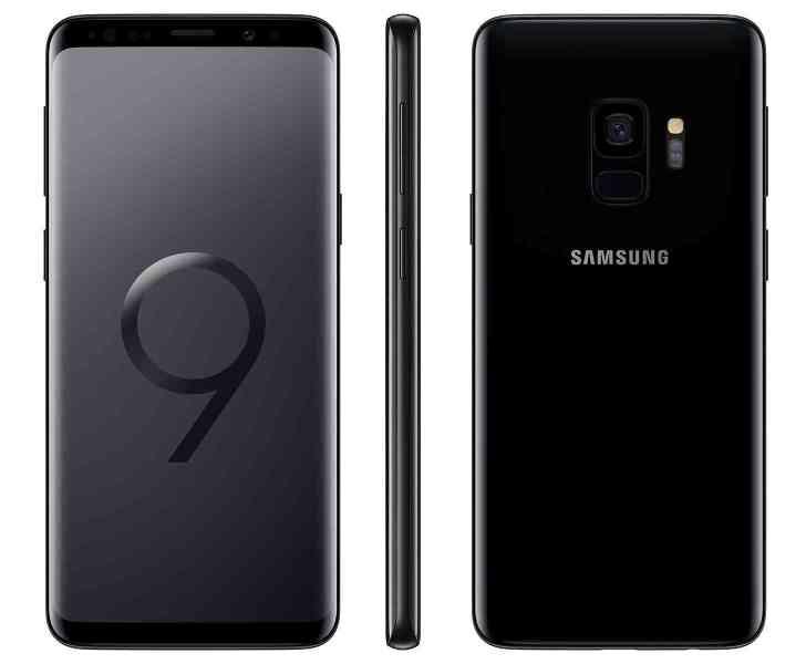 Samsung Galaxy S9 black official
